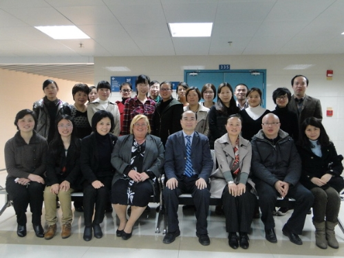 An Infection Control Management Expert from Aachen Luisen Hospital Visited Ningbo No.2 Hospital
